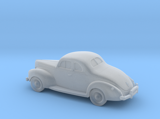 1/87 1940 Ford Eight Coupe in Smooth Fine Detail Plastic