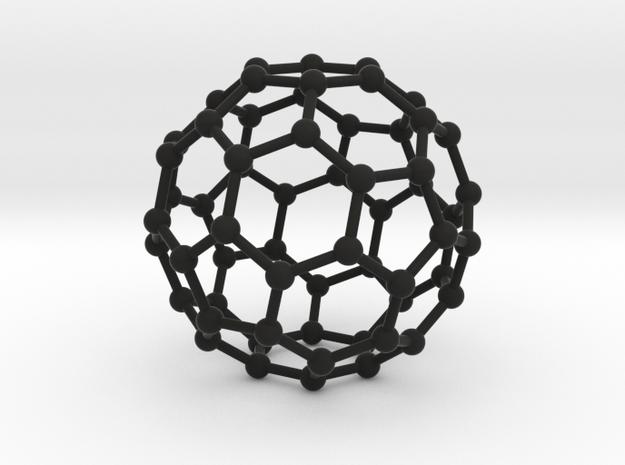 C60 Buckminsterfullerene model 3d printed