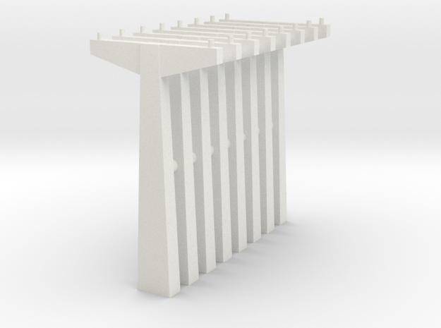 pylon_wdw_dual_n_70_x8 in White Natural Versatile Plastic