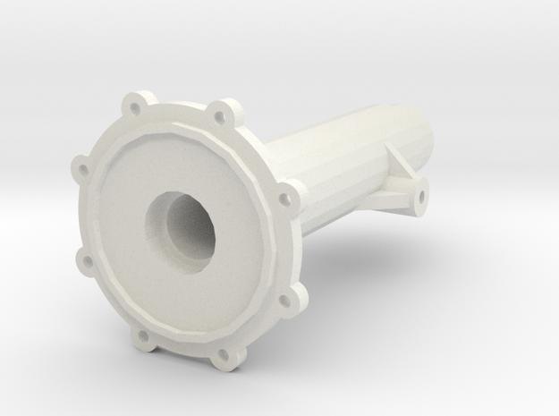 SDI Achsrohr Hinten Rechts in White Natural Versatile Plastic
