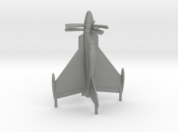 Convair XFY-1 Pogo in Gray PA12: 1:160 - N