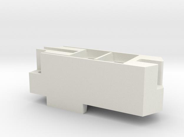 Athearn RTR GP40X Speaker Enclosure in White Natural Versatile Plastic