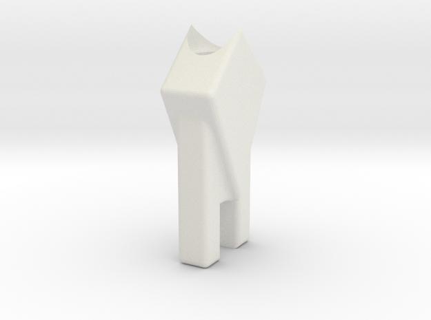 Legend of Zelda: Breath of the Wild arrow - Nock in White Natural Versatile Plastic