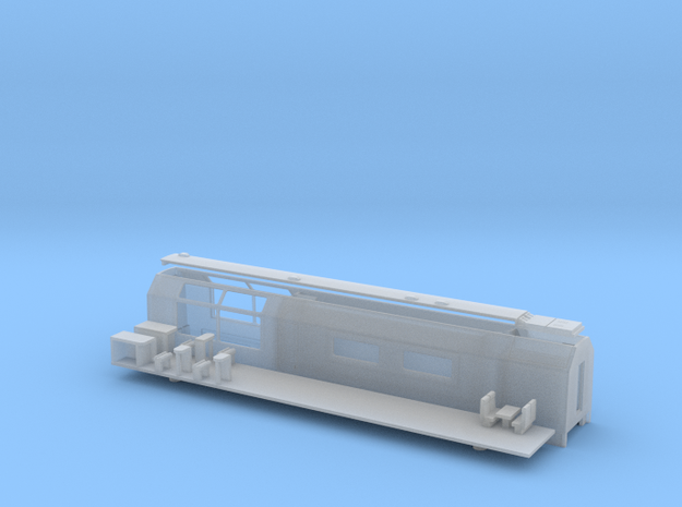 RhB WRp 3830-3832 / MGB WRp 3833-3835 in Smooth Fine Detail Plastic: 1:120 - TT