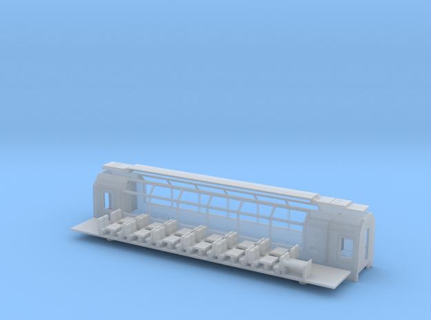 RhB Bp 2531-2537 / MGB Bp 4061-4067 in Smooth Fine Detail Plastic: 1:120 - TT