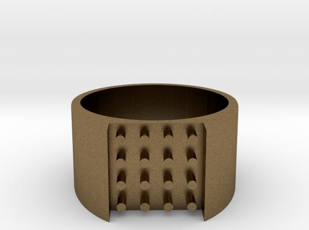 16-bit ring (US8/⌀18.2mm) 3d printed