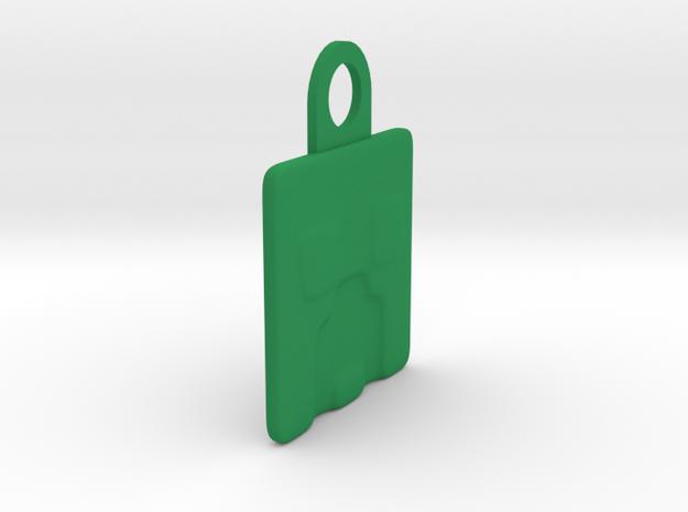 Smooth Creeper in Green Processed Versatile Plastic