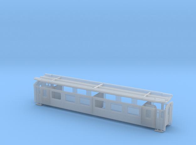 RhB A 1223-1243 in Smooth Fine Detail Plastic: 1:120 - TT