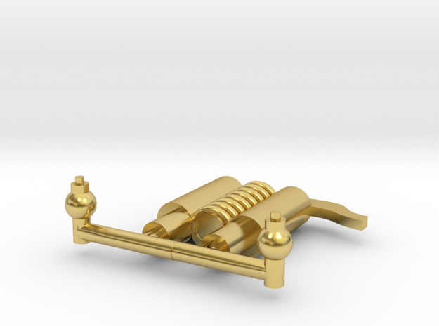Lil Tommo Brass Parts (Safetys and Oil pots) in Polished Brass
