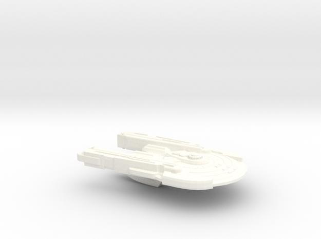 USS-Gustavo in White Processed Versatile Plastic