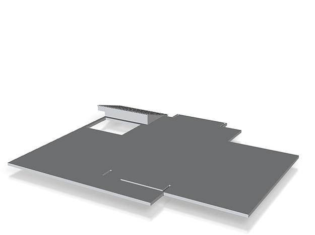 first floor slab_150 3d printed