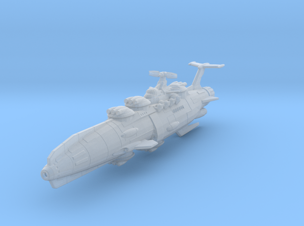 EDSF Battleship Kaiser Willhelm Mk2 in Smooth Fine Detail Plastic