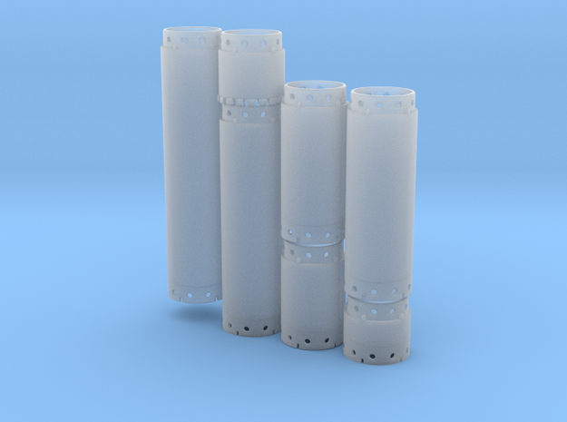 casing set DN1500 - scale 1/87 in Smooth Fine Detail Plastic