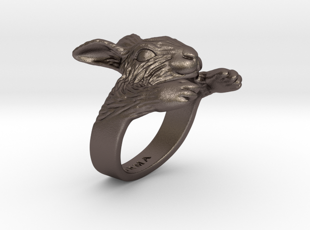 Rabbit Hug Ring