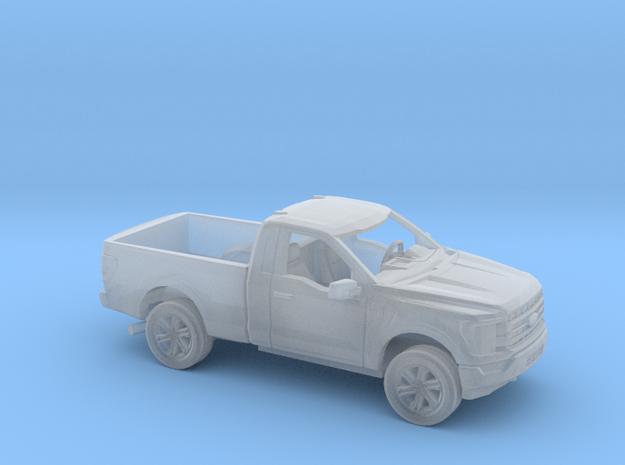 1/87 2021 Ford F150 Regular Cab Regular Bed Kit in Smooth Fine Detail Plastic