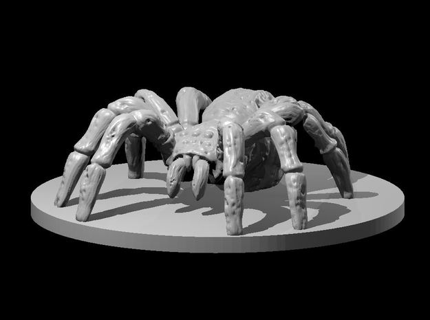 Zombie Giant Spider in White Natural Versatile Plastic