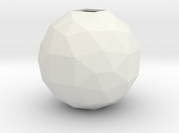 lawal f134 polyhedron in White Natural Versatile Plastic