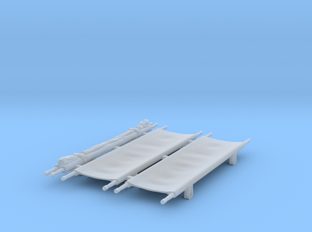 Stretchers 1/24 scale in Smooth Fine Detail Plastic