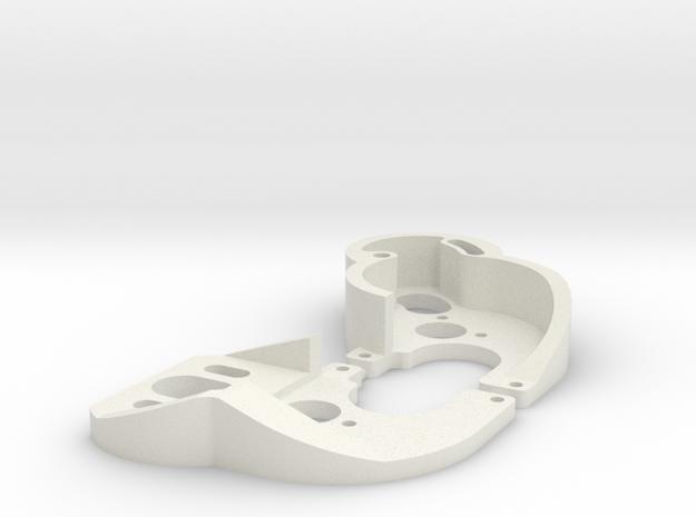 SCX24 130 motor mixed plates in White Natural Versatile Plastic