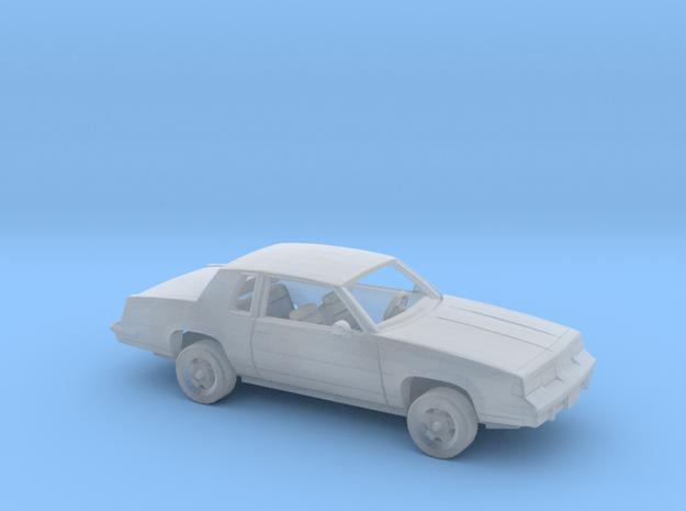1/87 1987-88 Oldsmobile Cutlass Supreme Kit in Smooth Fine Detail Plastic