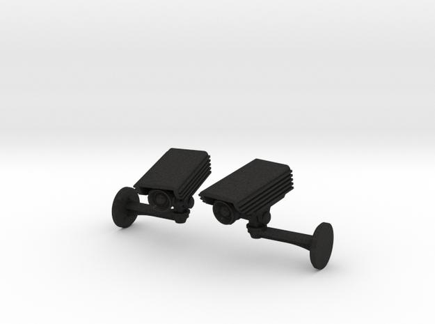 CCTV surveillance camera cufflinks