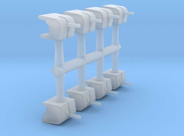 1/600 5in/25 Shielded High-Angle Mounts (8x)