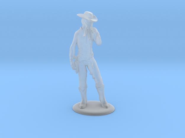 High Midnight: Cowboy Mind-flayer Miniature in Smoothest Fine Detail Plastic: 28mm
