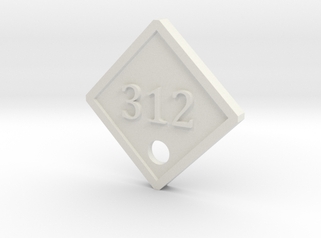 Silent Hill 2 Hotel Room 312 Part2 in White Natural Versatile Plastic