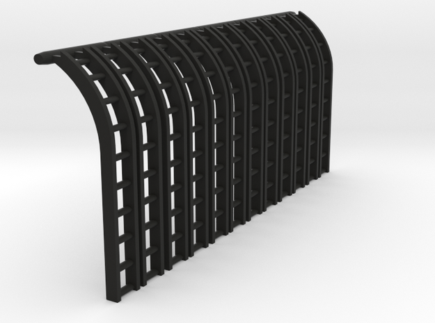 12x TT/3mm Flexi Tank Ladders in Black Natural Versatile Plastic
