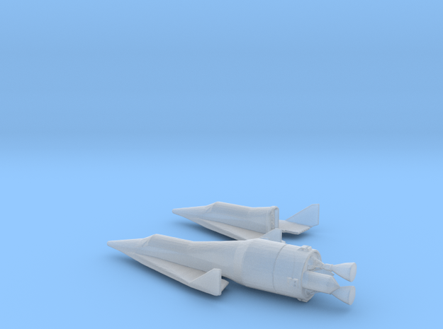 1/285 BOEING X-20 DYNA SOAR SPACE PLANE in Smooth Fine Detail Plastic