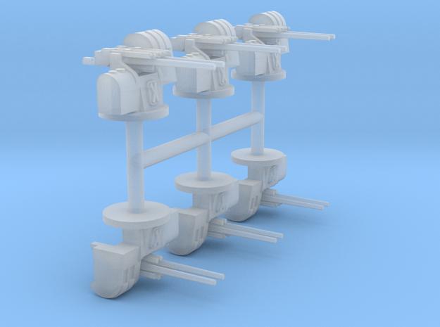 1/350 12.7cm Type 89 A1 Mod.2 Mount (6x)