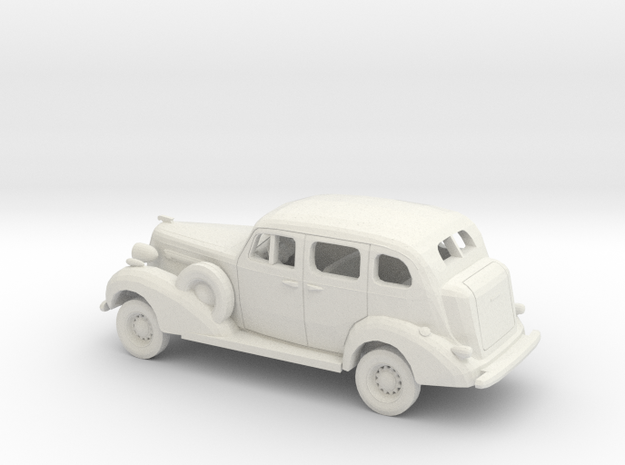 1/43 1936 Buick Roadmaster Sedan Kit in White Natural Versatile Plastic
