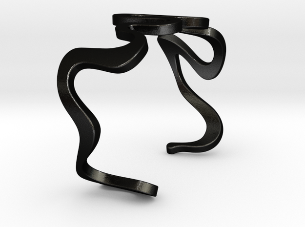 snake cuff size M 3d printed