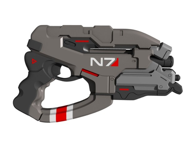 Mass Effect - 1:18 scale - N7 Eagle in Smooth Fine Detail Plastic