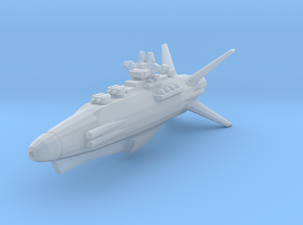 Earth Defence Fleet Destroyer Goshawk class in Frosted Ultra Detail