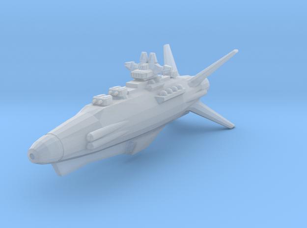 Earth Defence Fleet Destroyer Goshawk class in Smooth Fine Detail Plastic