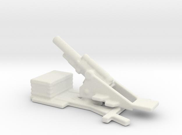 bl 9.2 inch  MK 2 siege howitzer 1/160  in White Natural Versatile Plastic