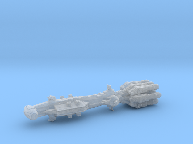 EU Insurgent frigate in Smooth Fine Detail Plastic