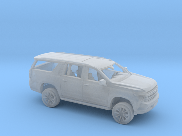 1/160 2020/21 Chevrolet Suburban Kit in Smooth Fine Detail Plastic