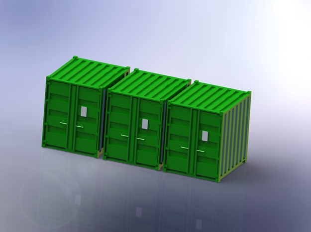 Tricon Container 1/160 in Smooth Fine Detail Plastic