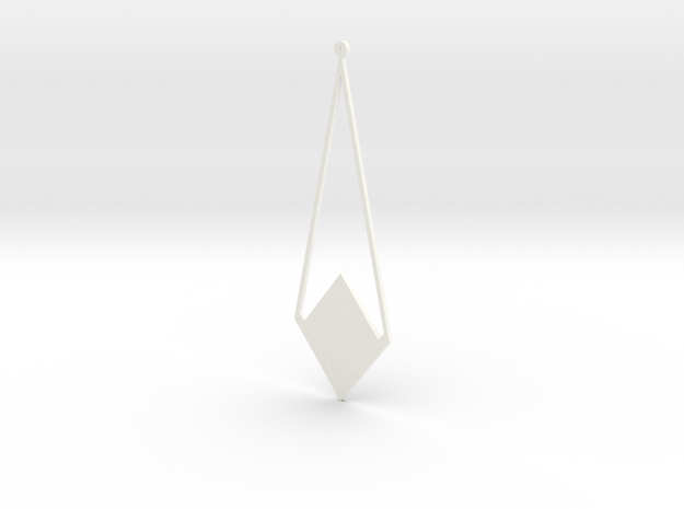 Simple Earring 3d printed