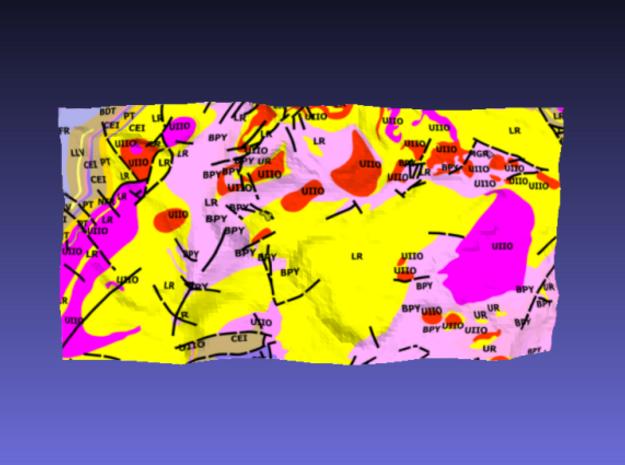 Snowdon - Strata 3d printed Surface of Snowdon - Strata model