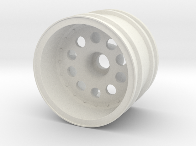 Front Wheel Tamiya Lancia 037 58040 in White Natural Versatile Plastic