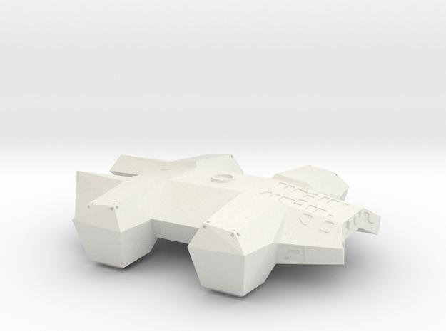 "INTERSTELLAR LANDER - 5.25"" in White Natural Versatile Plastic"