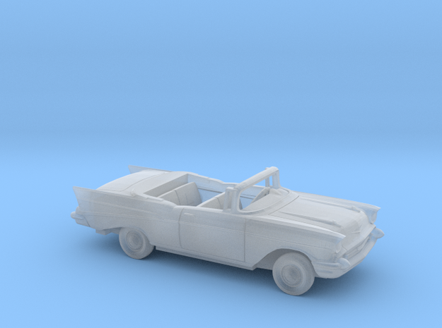 1/87 1957 Chevrolet BelAir Convertible Kit in Smooth Fine Detail Plastic