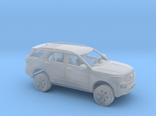 1/87 2020/21 Ford Explorer Kit in Smoothest Fine Detail Plastic