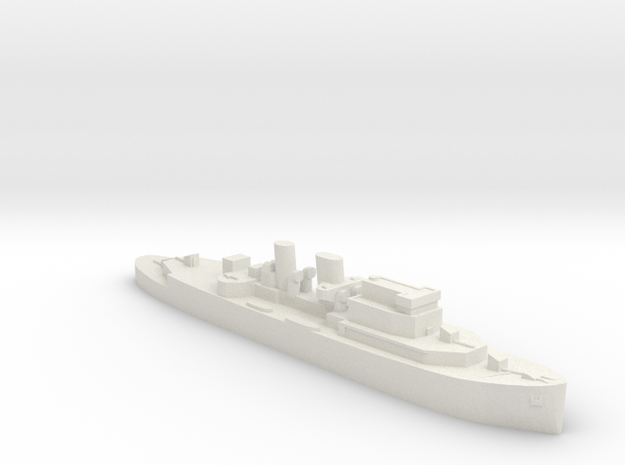 HMCS Prince Henry AMC 1:1200 WW2 in White Natural Versatile Plastic