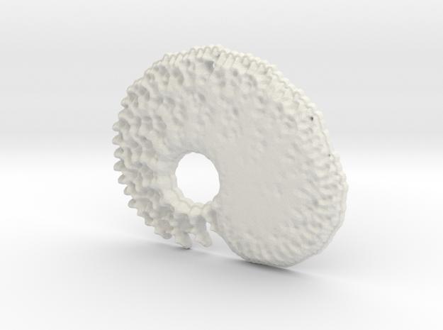 3D Fractal Tadpole Pendant 3d printed