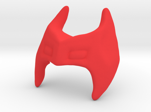 Carta Mask - Cat form for use on Guenhwy in Red Processed Versatile Plastic