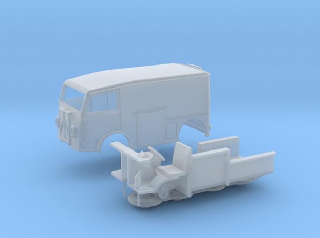 1:56 Citroën TUB Van in Smooth Fine Detail Plastic